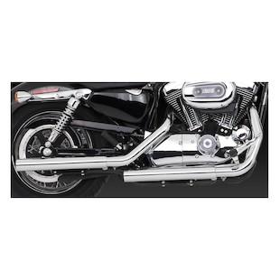 Vance & Hines Straightshots HS Slip-On Mufflers For Harley Sportster 2004-2013