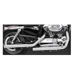 "Vance & Hines 2 1/2"" Straightshots HS Slip-On Mufflers For Harley Sportster 2004-2013"