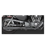Vance & Hines Blackout Exhaust for Harley Sportster 04-12