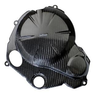 Leo Vince Carbon Fiber Clutch + Ignition Timing Cover Kawasaki Ninja 650R/ER-6N 2009-2013