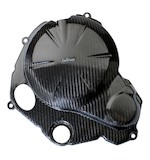 Leo Vince Carbon Fiber Clutch + Ignition Timing Cover Kawasaki Ninja 650R / ER6N 2009-2012