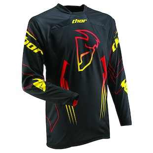 Thor Core Jersey (Color: Black / Size: 3XL)