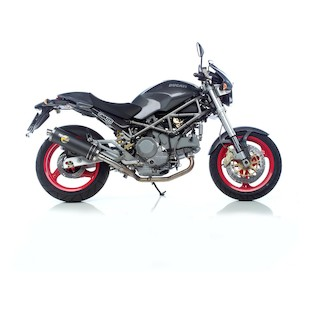 Leo Vince Oval EVO II Slip-On Exhaust Ducati Monster