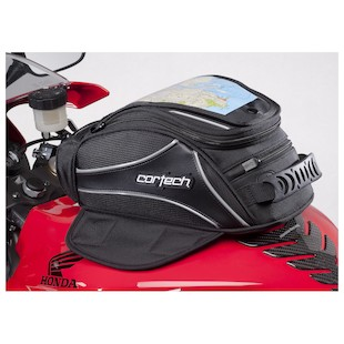 Cortech Super 2.0 8-Liter Strap Mounted Tank Bag