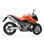 Leo Vince Oval EVO II Slip-On Exhaust KTM 990 Superduke 2005-2011