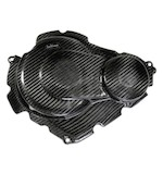 Leo Vince Carbon Fiber Clutch + Ignition Timing Cover Suzuki GSXR 600 / GSXR 750 2011-2012