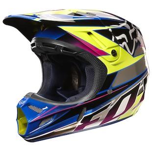 Fox Racing V4 Race Helmet (Size XL Only)