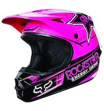 Fox Racing V1 Pink Rockstar Helmet
