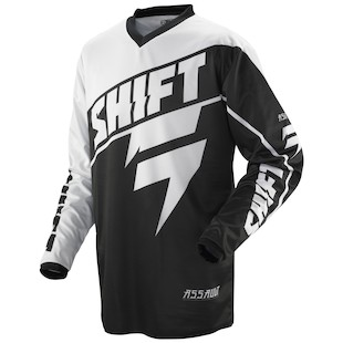 Shift Assault Jersey (Color: Black / Size: SM)