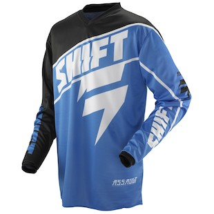 Shift Assault Jersey (Color: Blue / Size: 2XL)