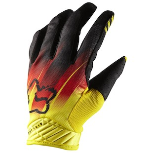 Fox Racing Airline Rockstar Blur Gloves