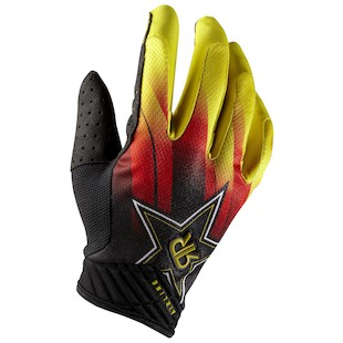Fox Racing Airline Rockstar Blur Gloves