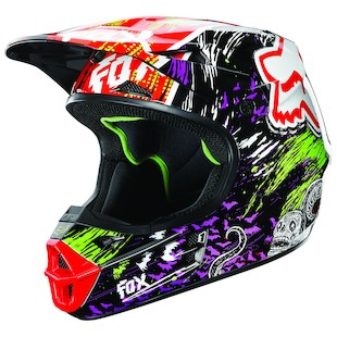 Fox Racing Youth V1 Pestilence Helmet