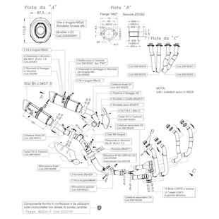 Leo Vince Factory EVO II Exhaust System Yamaha R1 2009-2013