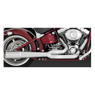 Vance & Hines 2-Into-1 Pro Pipe Exhaust For Harley Rocker 2008-2011