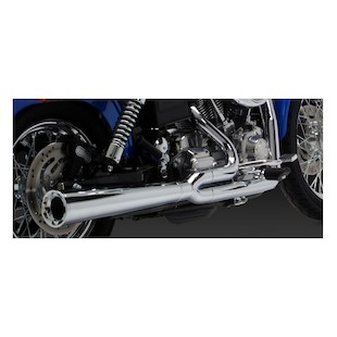 Vance & Hines 2-Into-1 Pro Pipe HS Exhaust For Harley Dyna 1991-2005