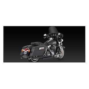 Vance & Hines Big Shot Duals Exhaust For Harley Touring 2009