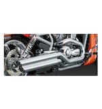 "Vance & Hines 2 1/2"" Power Shots Slip-On Mufflers For Harley V-Rod 2002-2008"