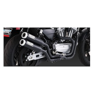 Vance Hines Widow 2-1-2 Exhaust For Harley XR 2009-2012