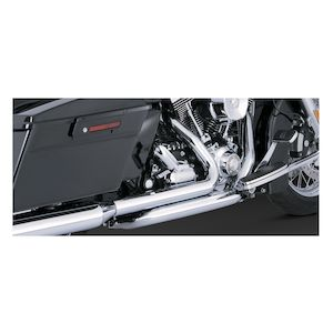Vance & Hines Dresser Duals Headers For Harley Touring 2009