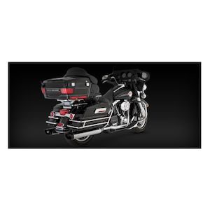 Vance & Hines Dresser Duals Headers For Harley Touring 1995-2008