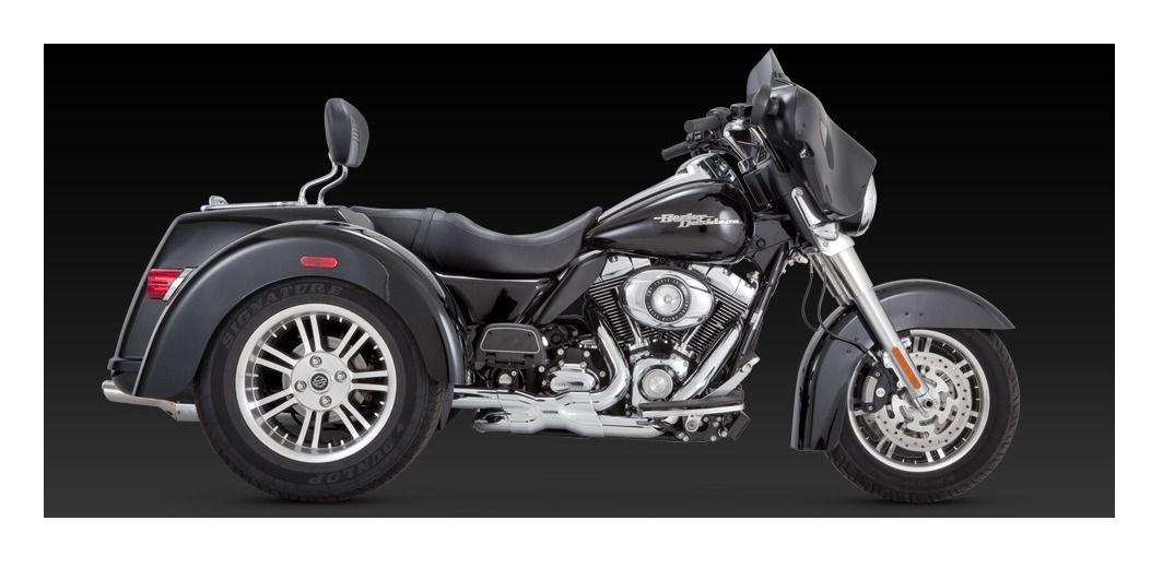 Vance Hines Deluxe Slipon Mufflers For Harley Trike 20092019 Revzilla: Harley Trike Exhaust At Woreks.co