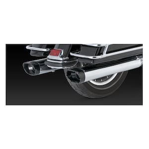 "Vance & Hines 5 1/2"" Monster Oval Slip-On Mufflers For Harley Touring 1995-2016"