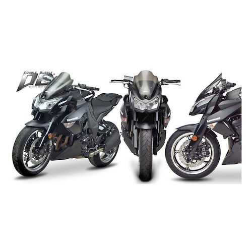 zero gravity double bubble windscreen kawasaki z1000 2010. Black Bedroom Furniture Sets. Home Design Ideas