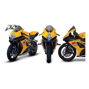 Zero Gravity Double Bubble Windscreen Suzuki GSXR1000 2007-2008