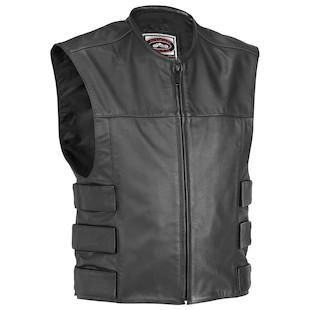 River Road Harrier Leather Tactical Vest