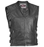 River Road Ruffian Perforated Leather Vest