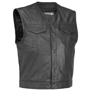 River Road Vandal Leather Vest