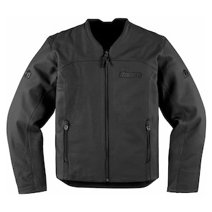 Icon Device Leather Jacket