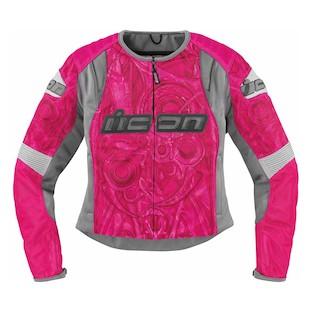 Icon Women's Overlord Sportbike SB1 Mesh Jacket