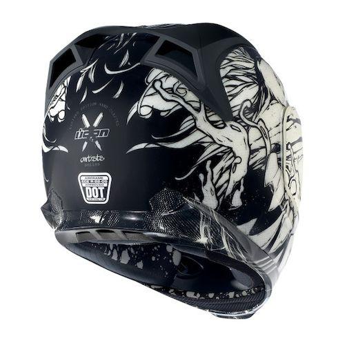 Icon Helmet Graphics Icon Airframe Manic Helmet