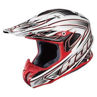 HJC RPHA X Airaid Helmet (Color: White/Silver/Red / Size: XS)