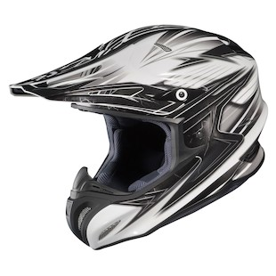 HJC RPHA X Factor Helmet (Color: White/Black/Silver / Size: XL)