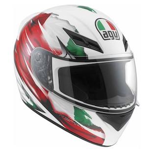 AGV K3 Italy Flag Helmet