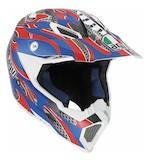 AGV AX-8 EVO Flame Helmet
