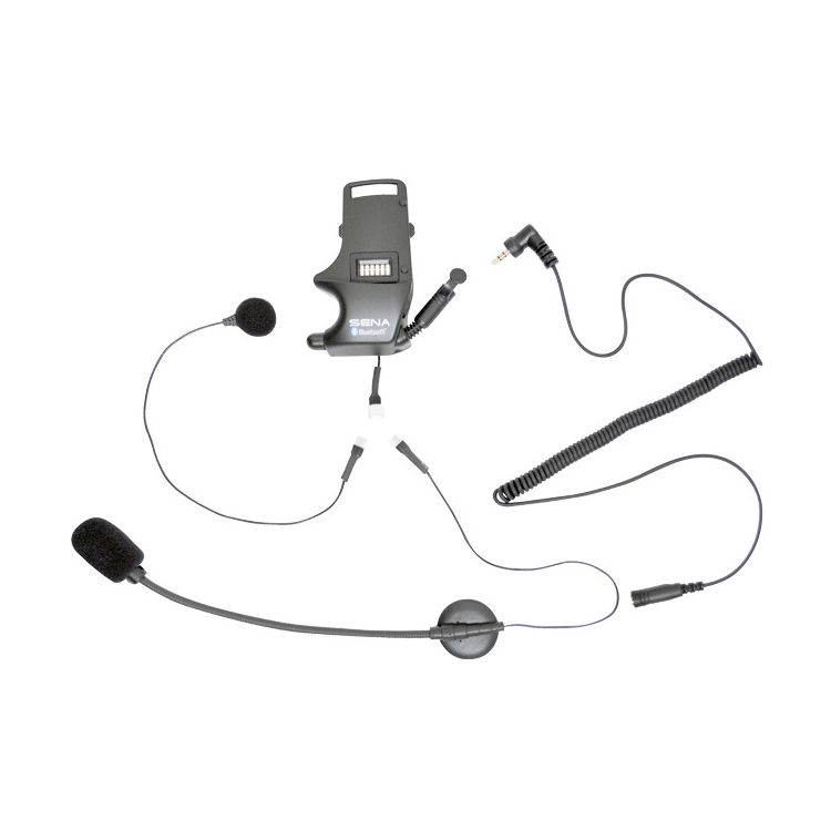 Sena SMH-10 Helmet Clamp Kit - Earbuds with Boom and Wired Microphone