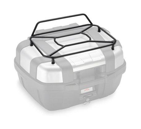givi e142 top luggage rack for trekker 52l top case revzilla. Black Bedroom Furniture Sets. Home Design Ideas