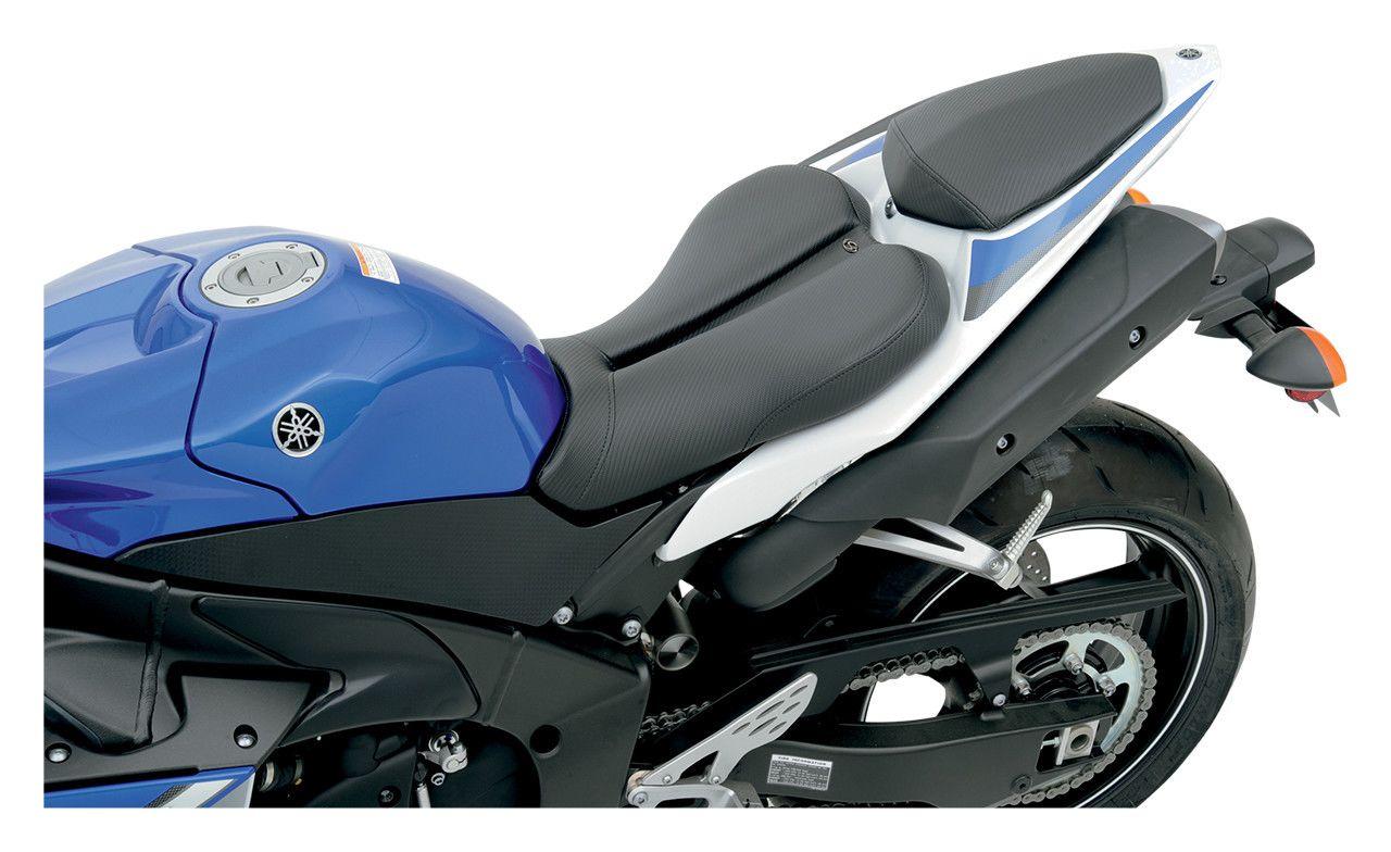 Magnificent Saddlemen Gel Channel Track Cf Seat Yamaha R1 2009 2014 Revzilla Gamerscity Chair Design For Home Gamerscityorg