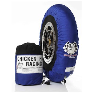 chicken hawk racing tire warmers pole position detail
