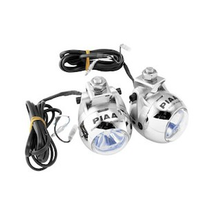 PIAA 1100X Sport Touring Light System BMW R1200RT DOHC 2010-2012