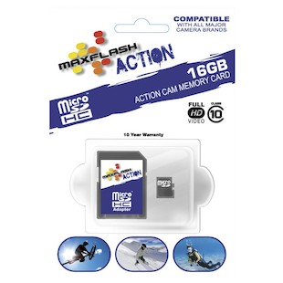 Maxflash Action Micro SDHC Card