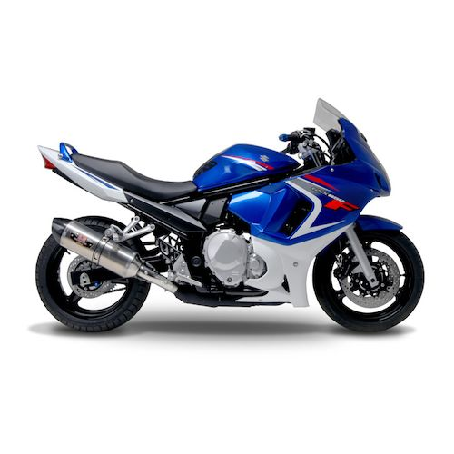 yoshimura r77 street slip on exhaust suzuki gsx650f 2008. Black Bedroom Furniture Sets. Home Design Ideas