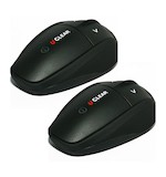 U-CLEAR HBC200 Force Bluetooth Communicator - Dual Pack