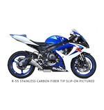 Yoshimura R55 Race Slip-On Exhaust Suzuki GSXR 600 / GSXR 750 2006-2007