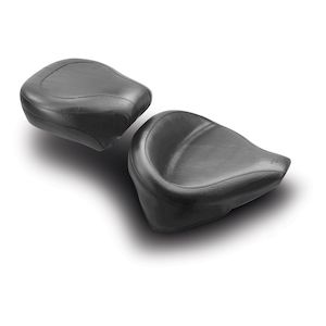 Mustang Wide Solo Seat For Harley Softail With 150mm Rear Tire 2000-2007