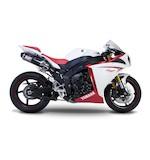 Yoshimura TRC Dual Slip-On Exhaust Yamaha R1 2009-2014